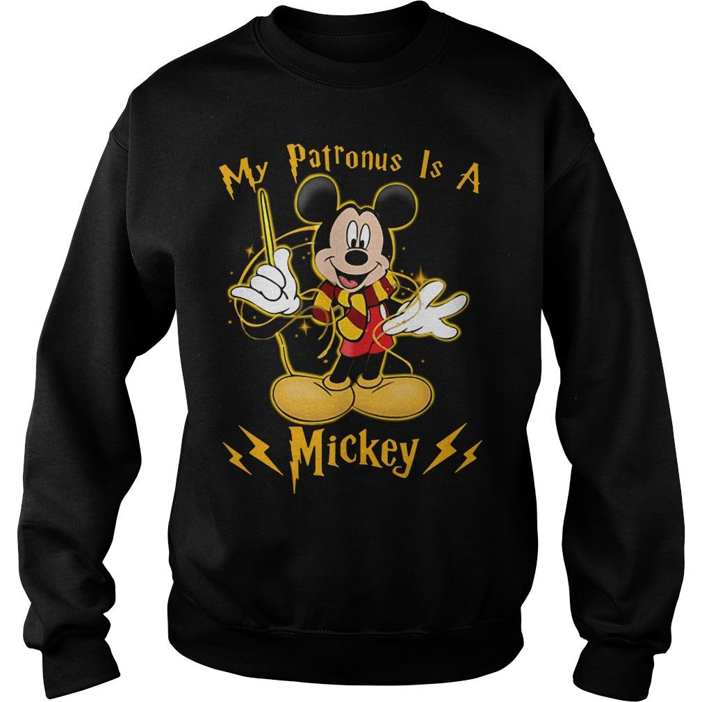 Harry Potter My Patronus is a Mickey Sweater