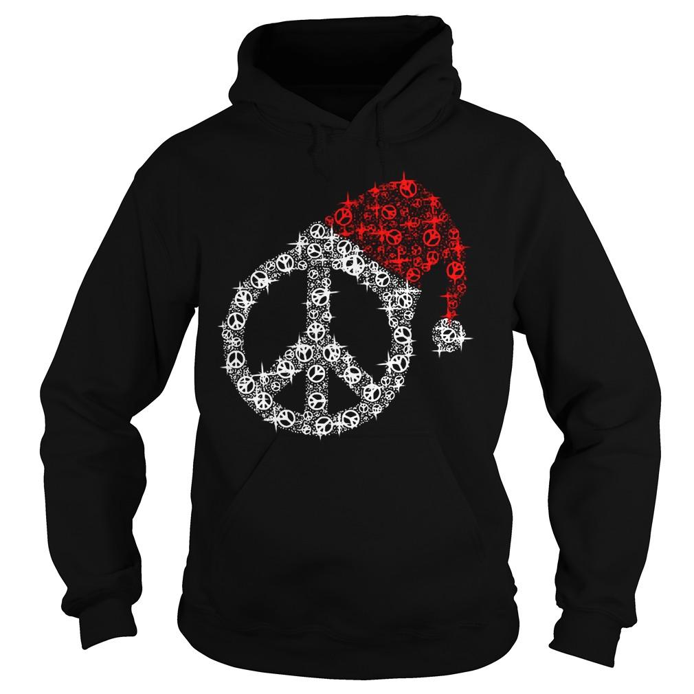 Hippie Christmas hat twinkle Hoodie