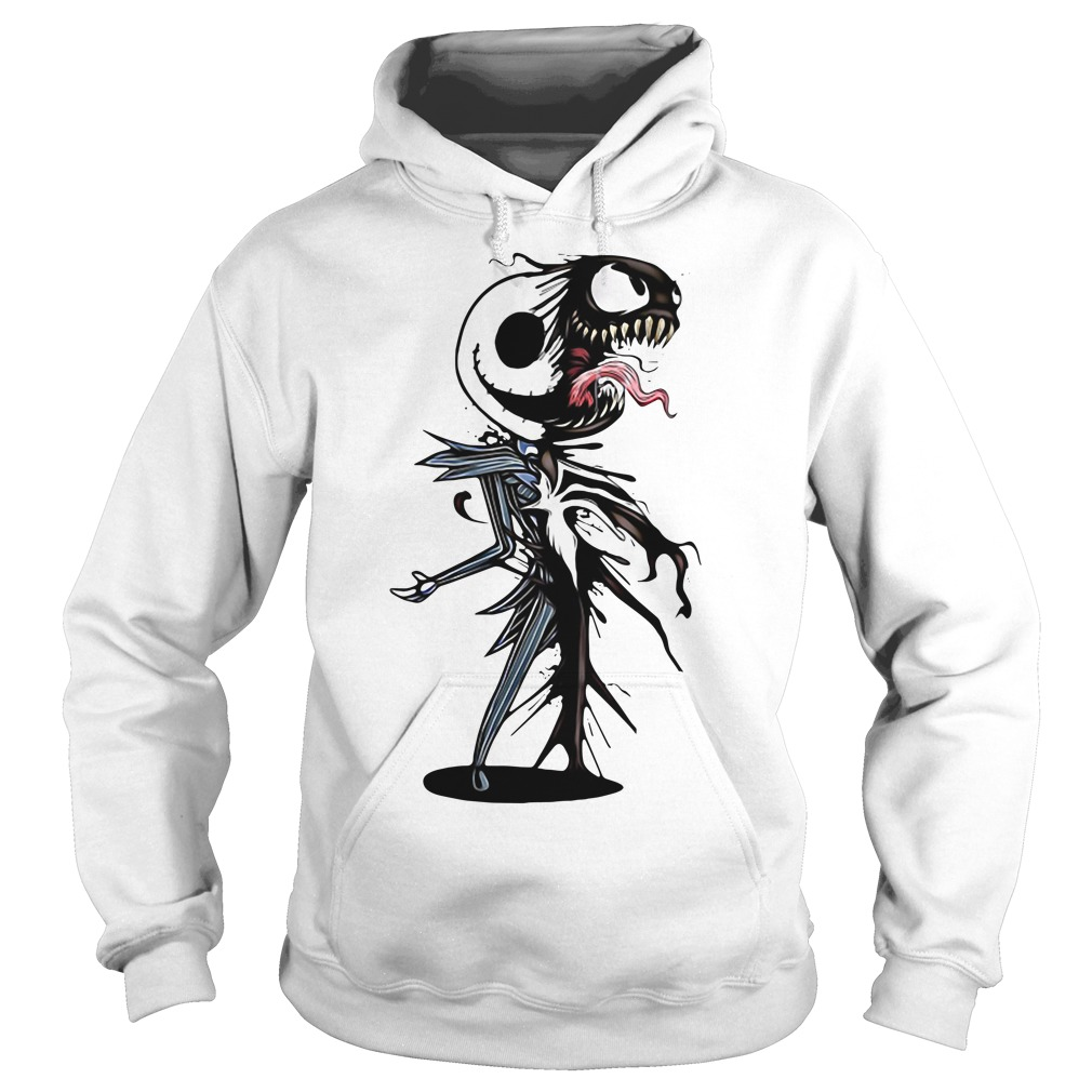 Jack Skellington Venom - we are Venom Hoodie