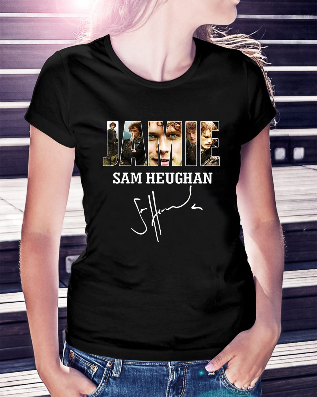 Jamie Sam Heughan Ladies Tee