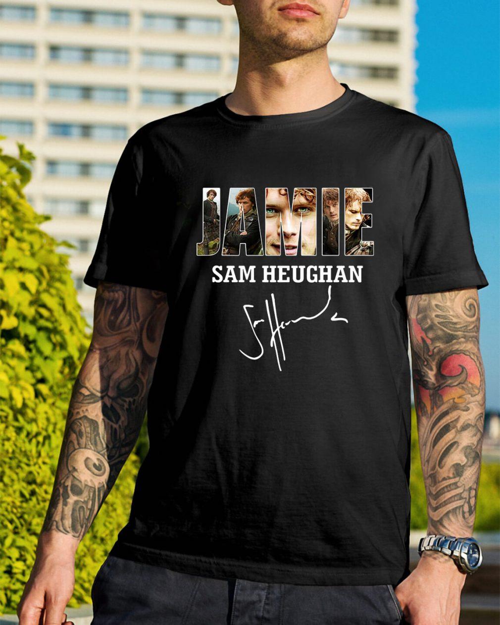 Jamie Sam Heughan shirt
