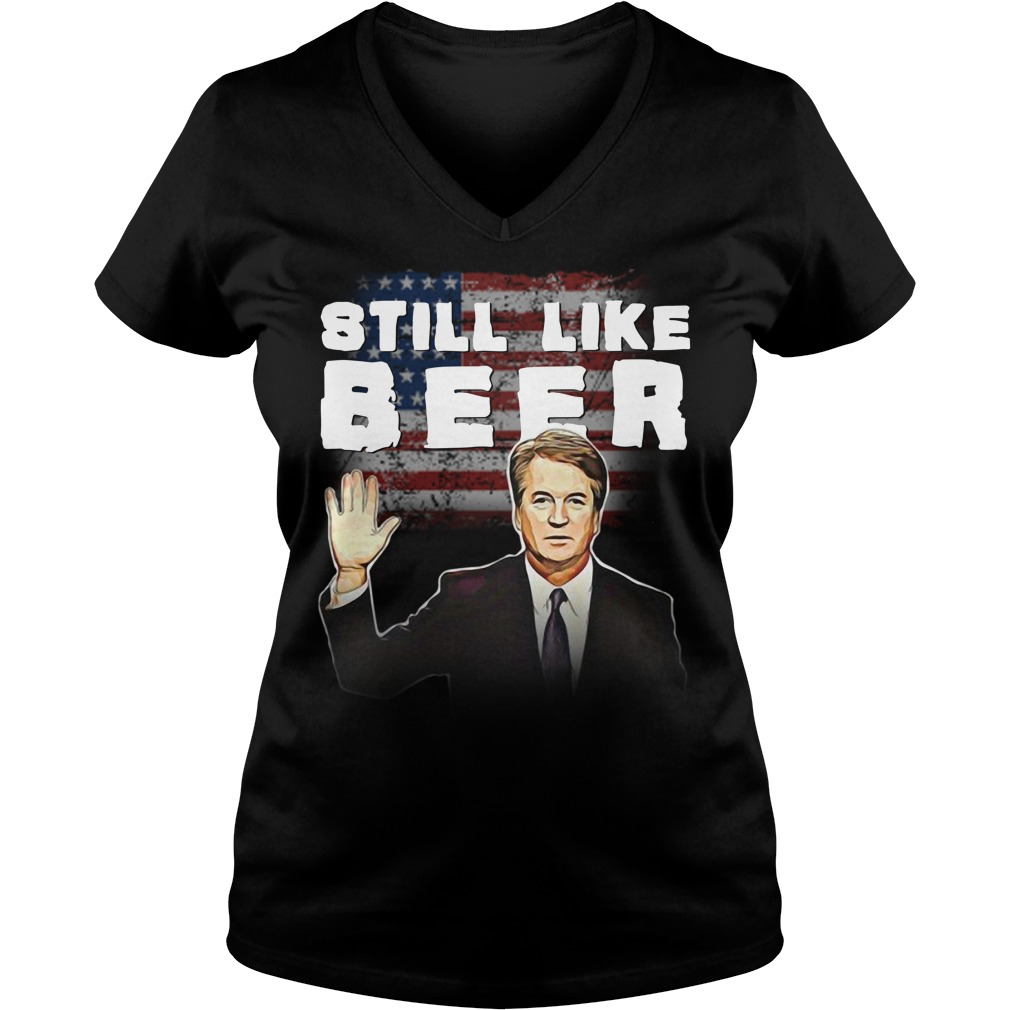 Judge Kavanaugh still like beer V-neck T-shirt
