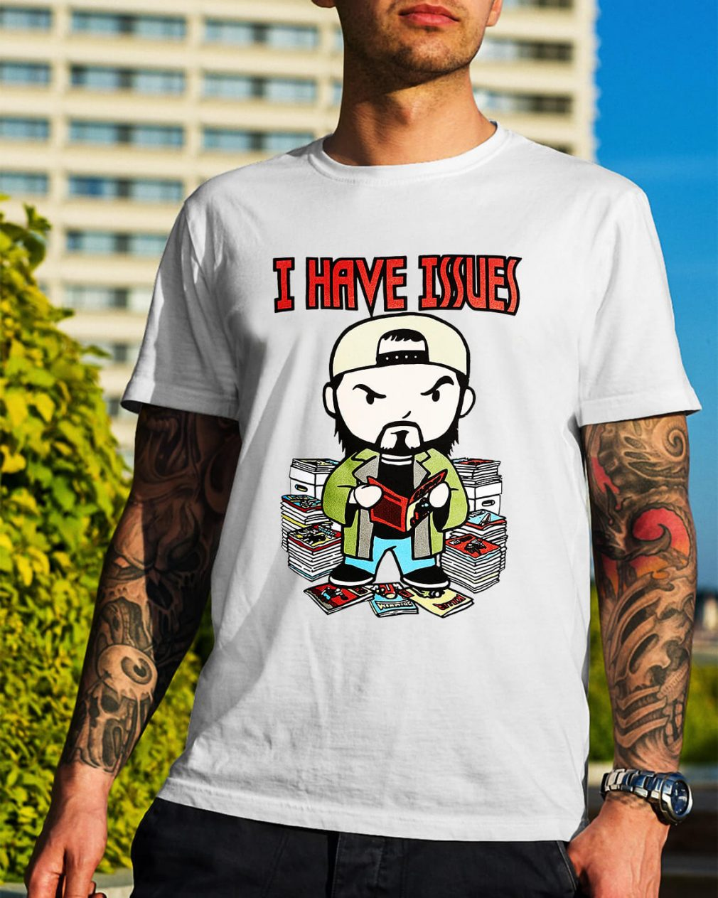 Kevin Smith I have issues shirt