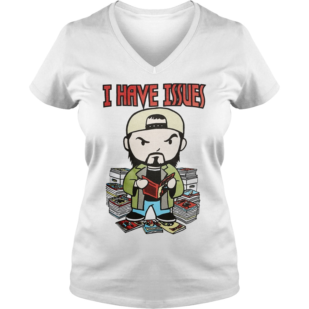 Kevin Smith I have issues V-neck T-shirt