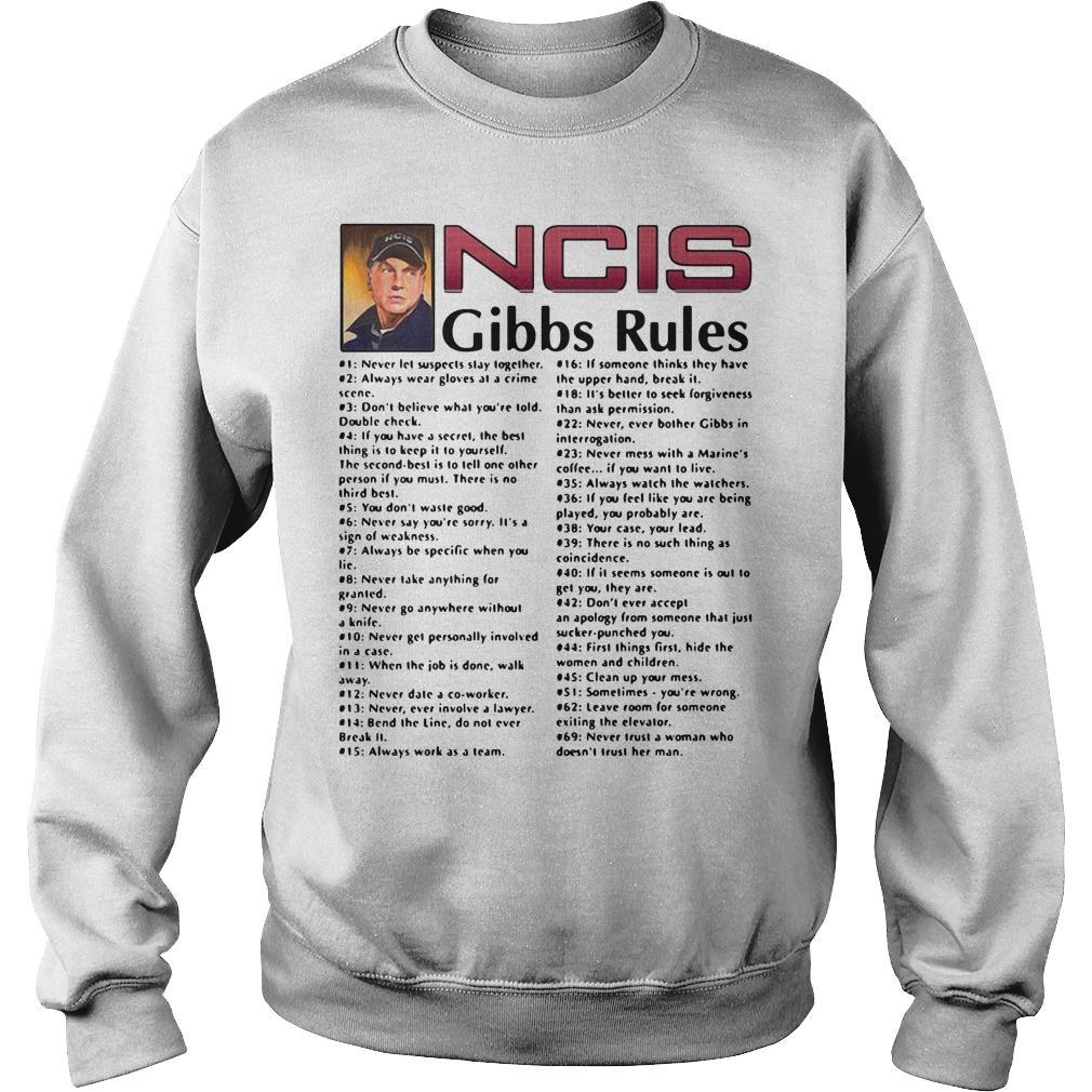 Leroy Jethro Gibbs - NCIS Gibbs rules Sweater