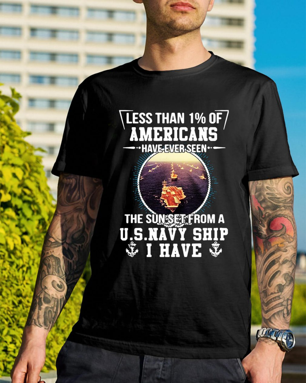 Less than 1% of Americans have ever seen the sun set shirt