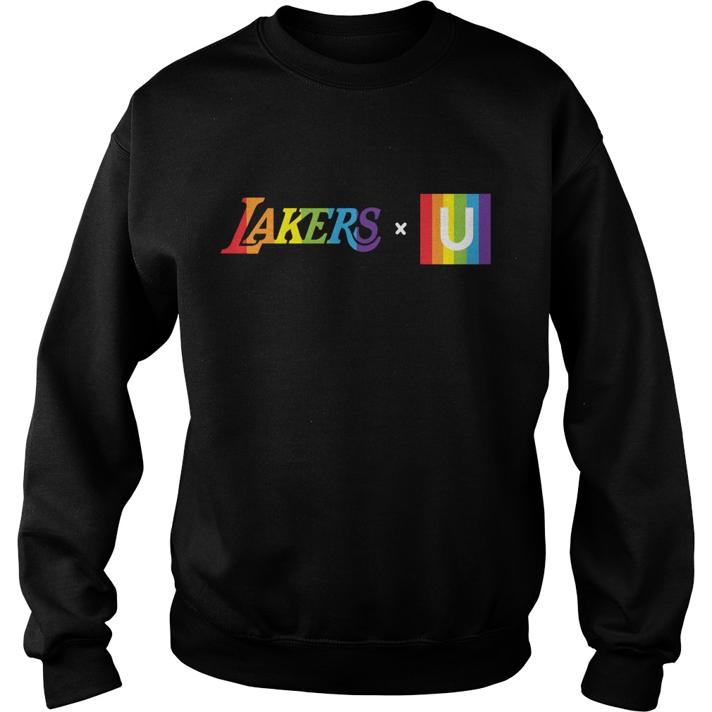 LGBT Los Angeles Lakers Sweater