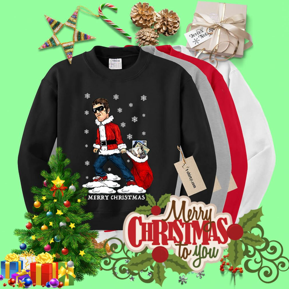 Liam Gallagher Merry Christmas jumper shirt, sweater