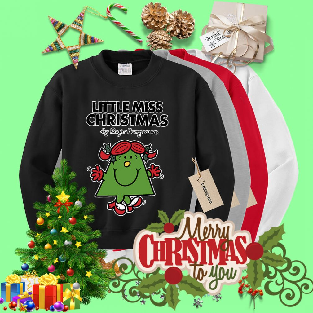 Little miss Christmas by Roger Hargreaves shirt, sweater