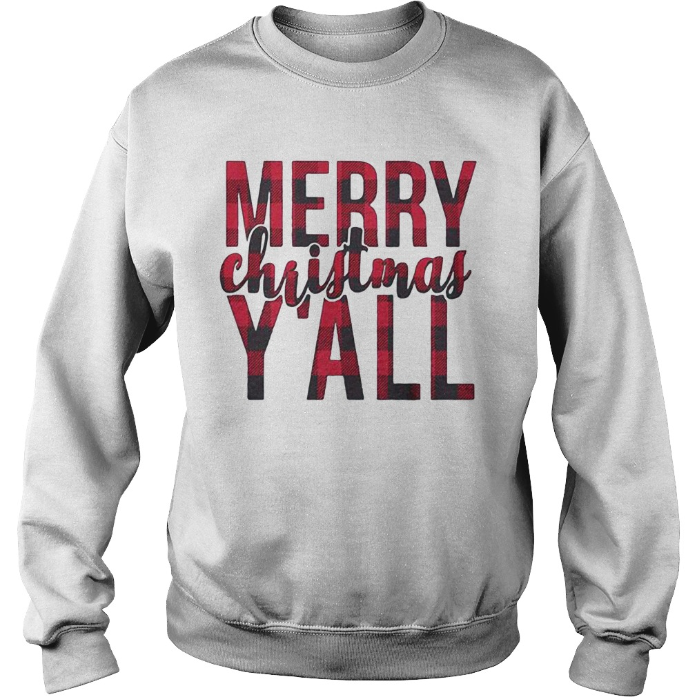 Merry Christmas Y'all Sweater