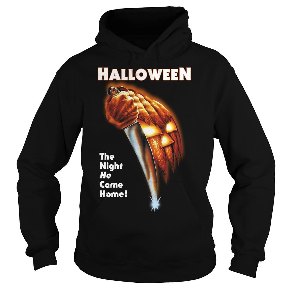 Michael Myers Halloween the night he came home Hoodie
