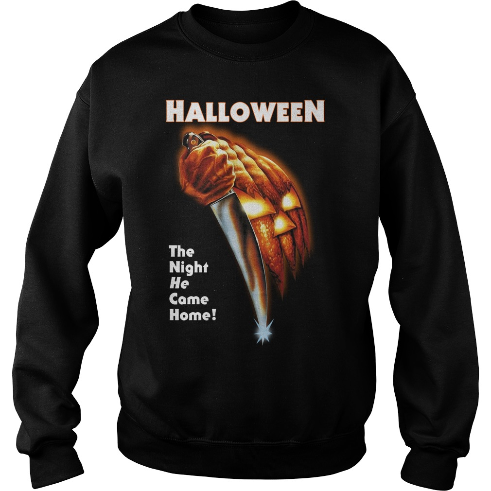 Michael Myers Halloween the night he came home Sweater