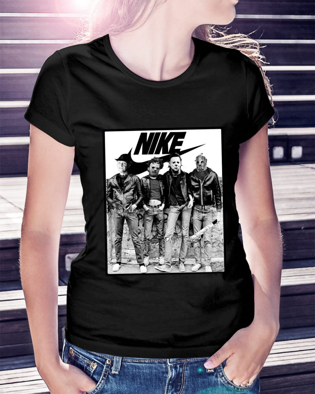 Michael Myers Nike Ladies Tee