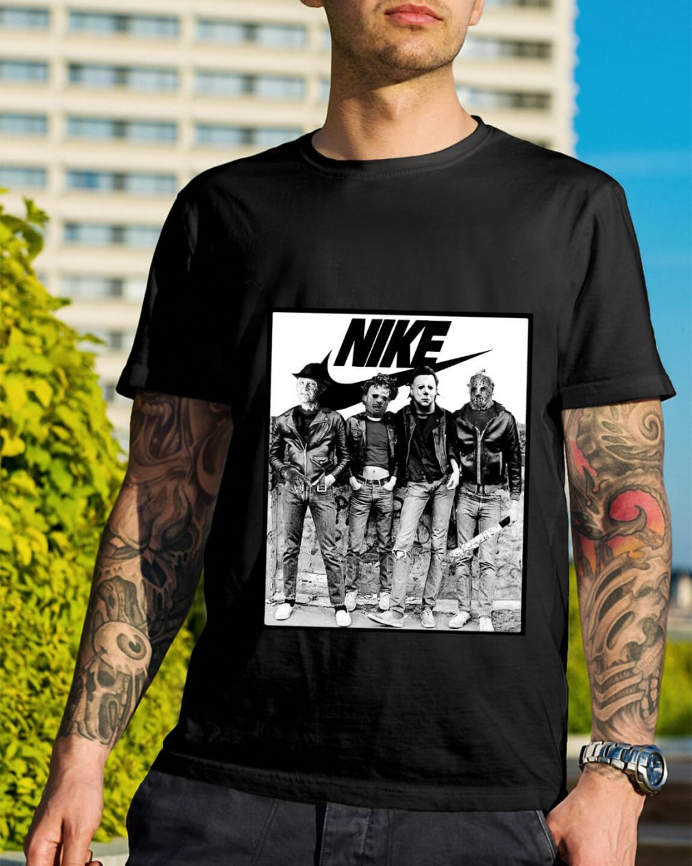 Michael Myers Nike shirt