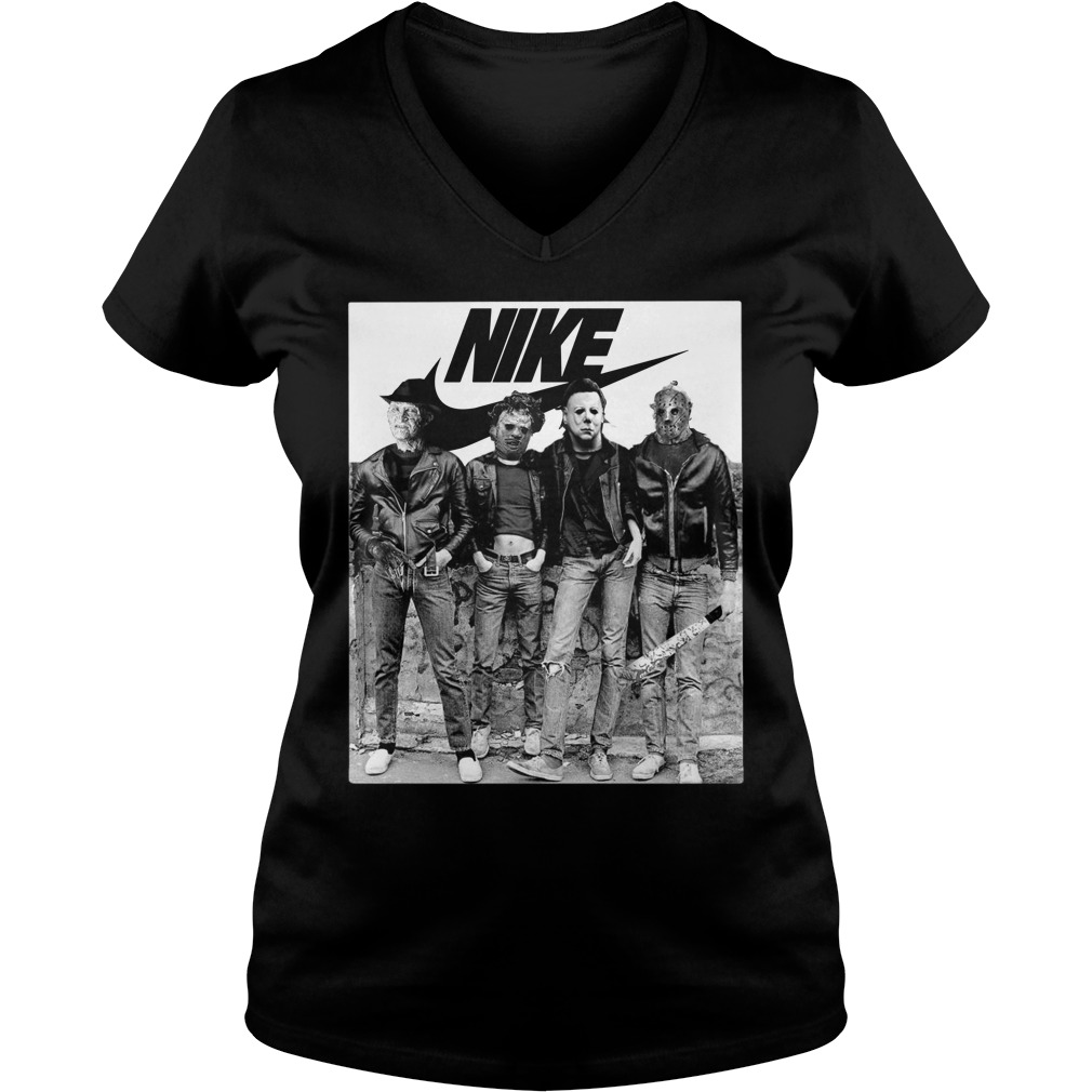 Michael Myers Nike V-neck T-shirt