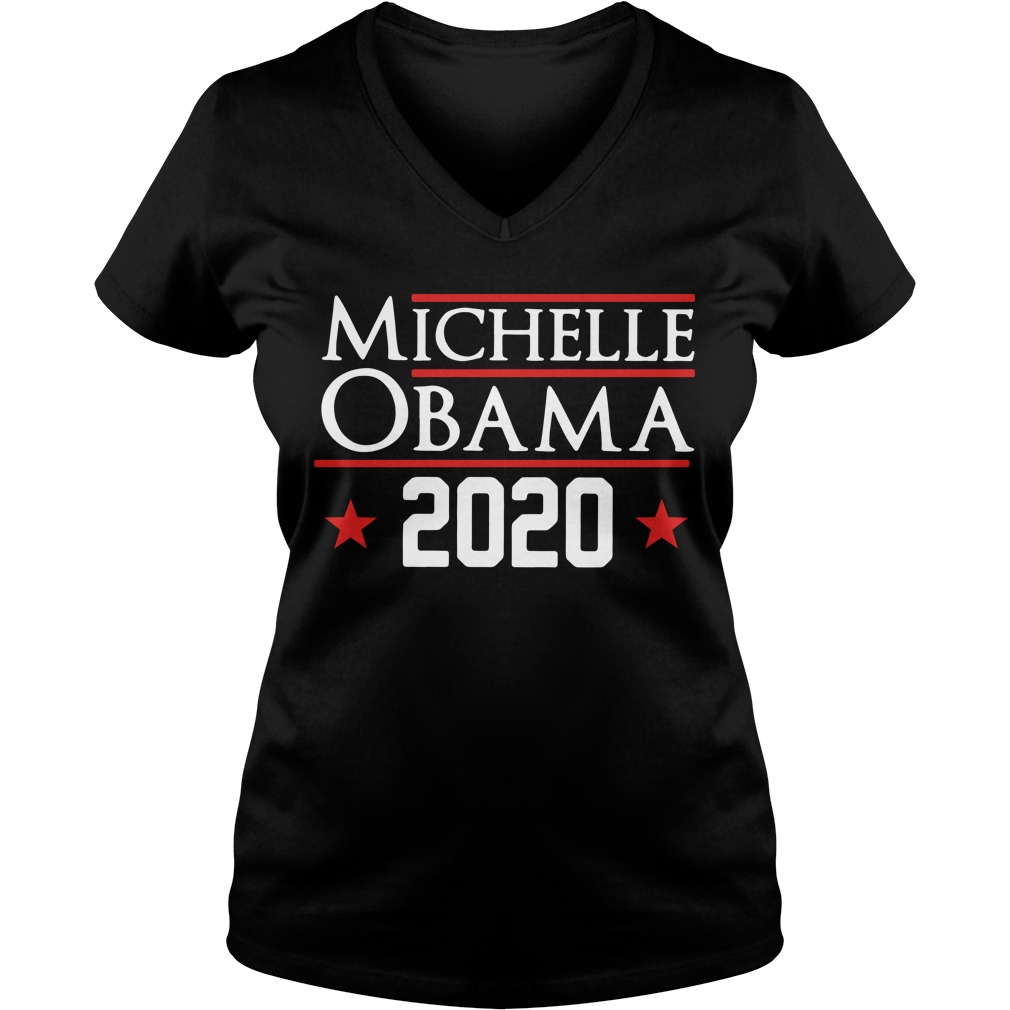 Michelle Obama 2020 V-neck T-shirt