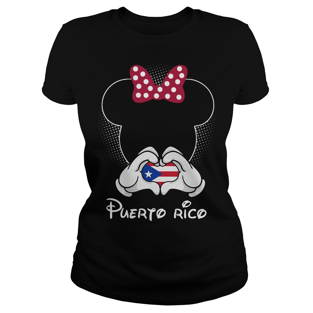Mickey love Puerto Rico Ladies Tee