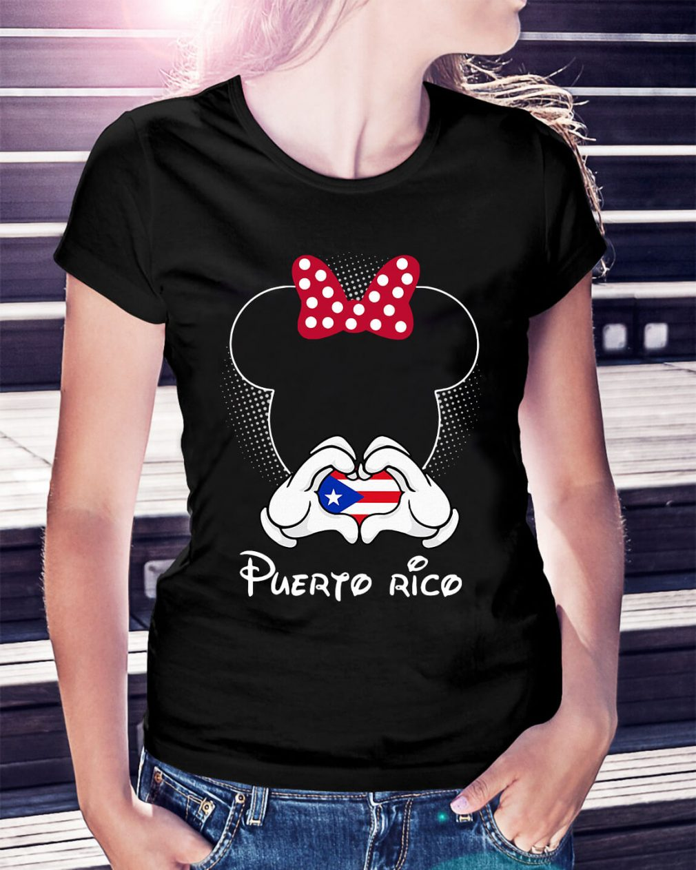 Mickey love Puerto Rico shirt