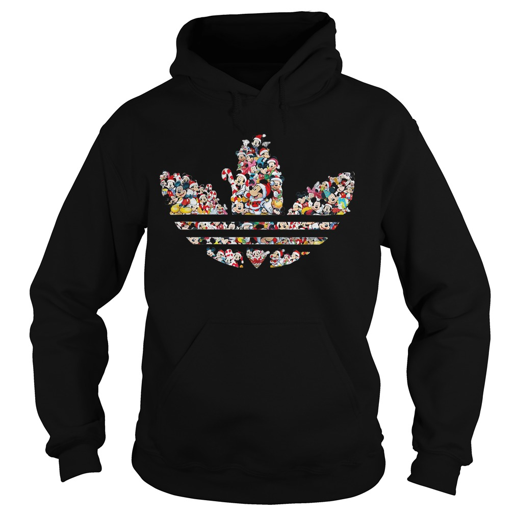 Mickey Mouse Adidas Hoodie
