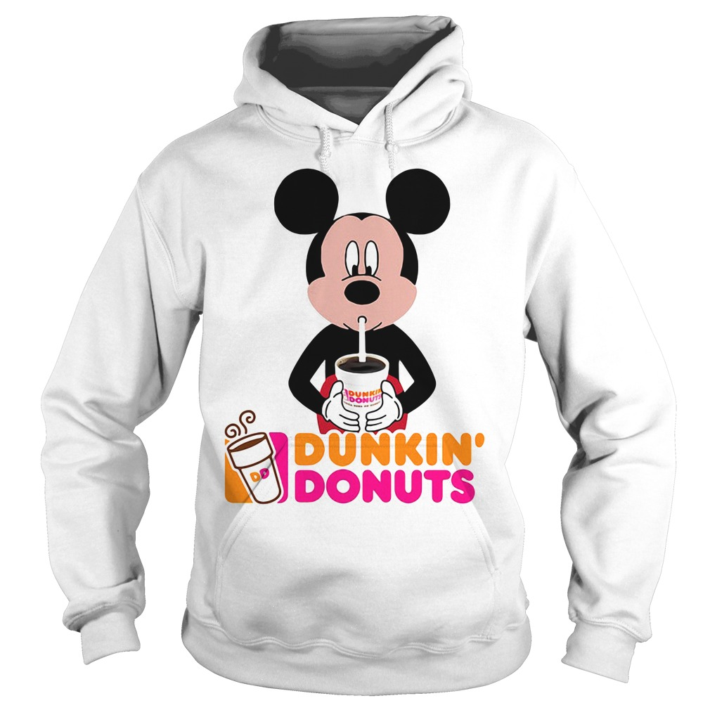 Mickey Mouse dunkin' donuts Hoodie