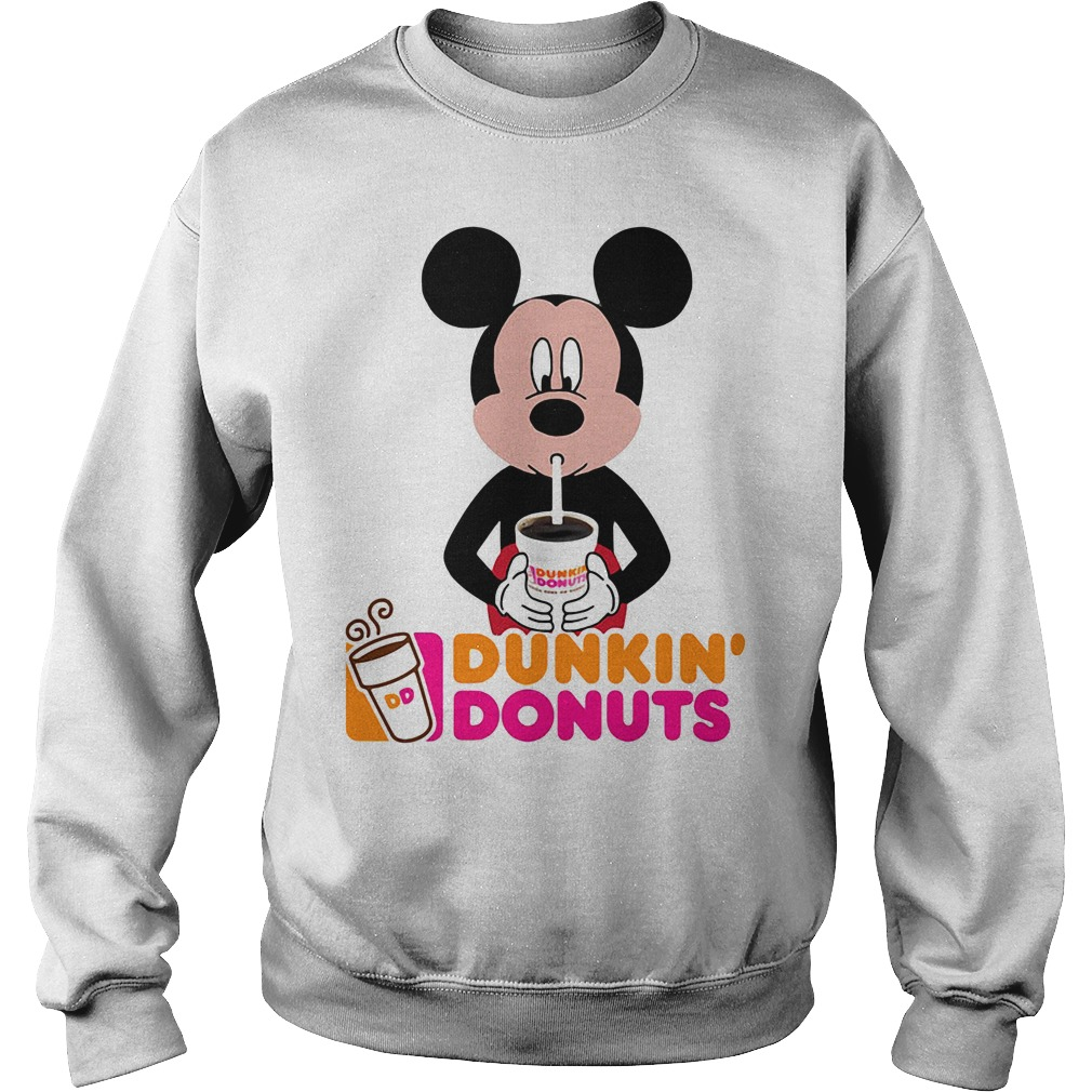 Mickey Mouse dunkin' donuts Sweater