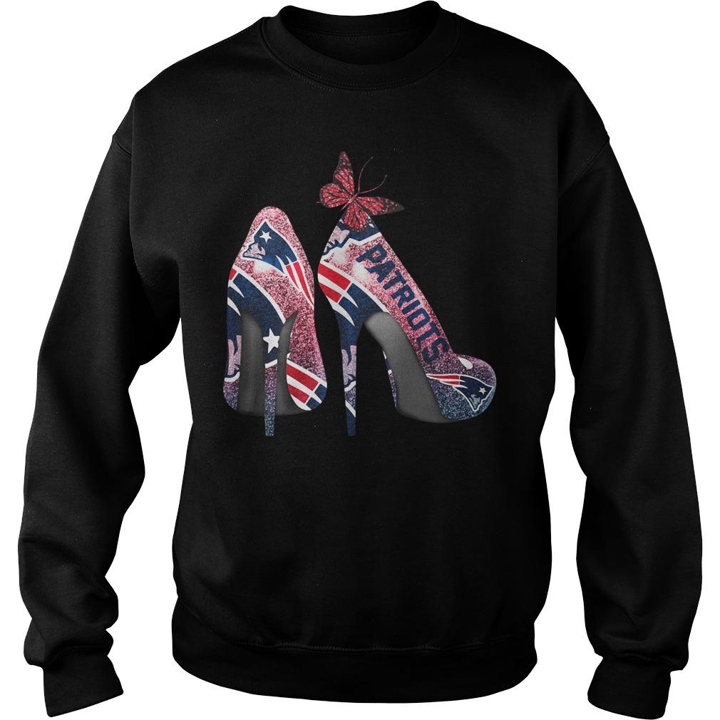 New England Patriots high heels Sweater