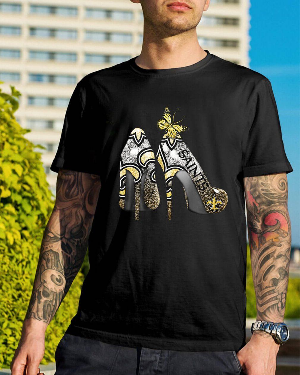 New Orleans Saints Heels high heels shirt