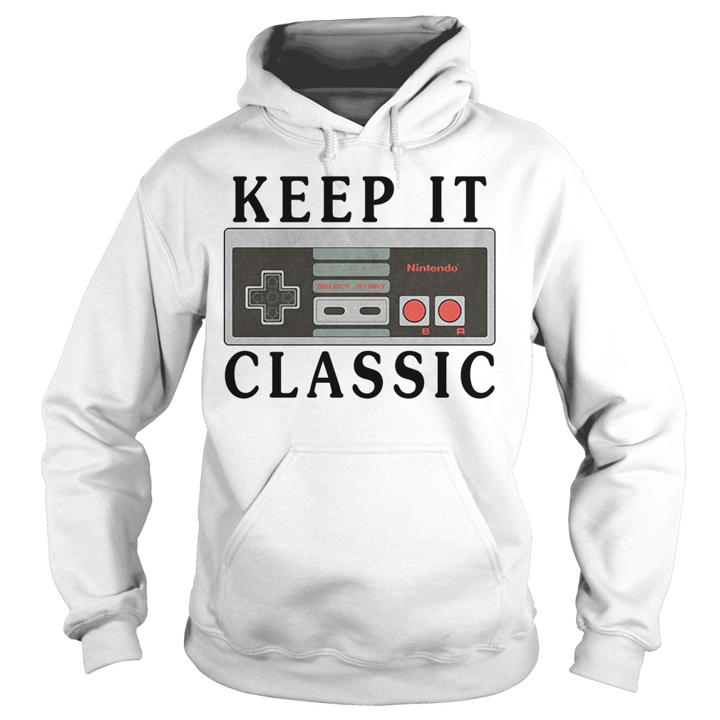 Nintendo keep it classic Hoodie