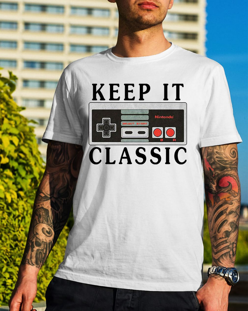 Nintendo keep it classic shirt