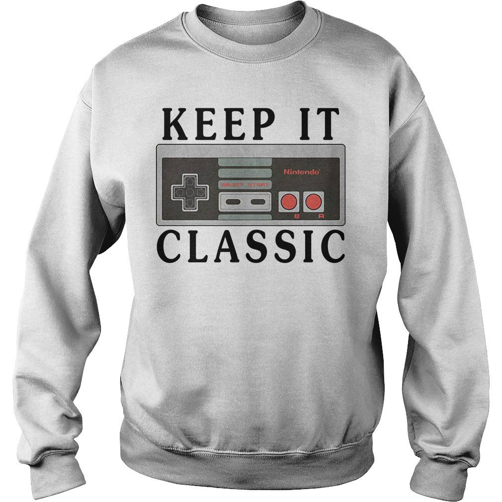 Nintendo keep it classic Sweater