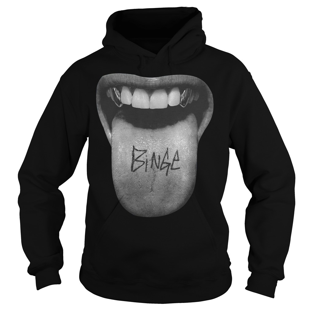 Official Binge Tongue Hoodie