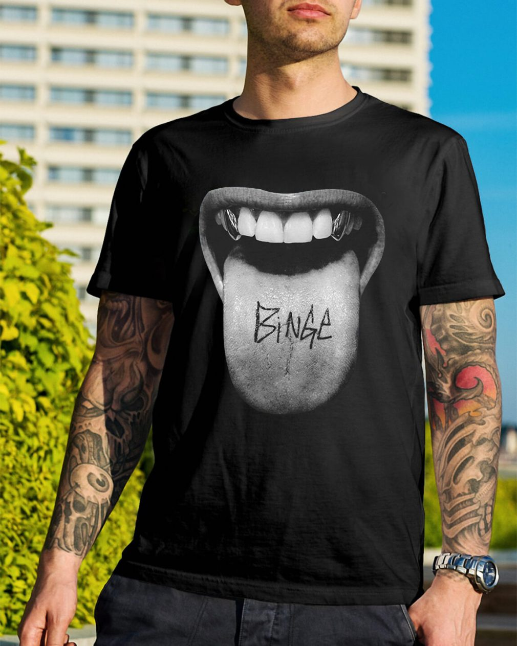 Official Binge Tongue shirt
