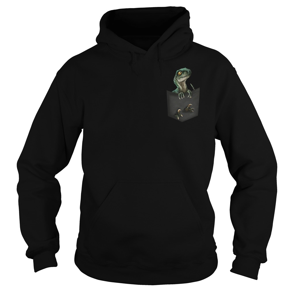 Official Jurassic World Raptor pocket Hoodie