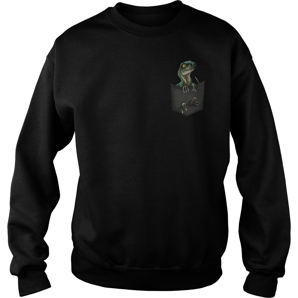 Official Jurassic World Raptor pocket Sweater
