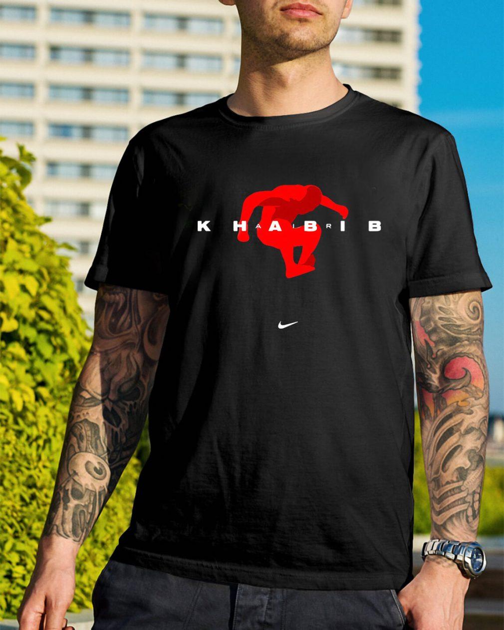 Official Khabib Nike shirt