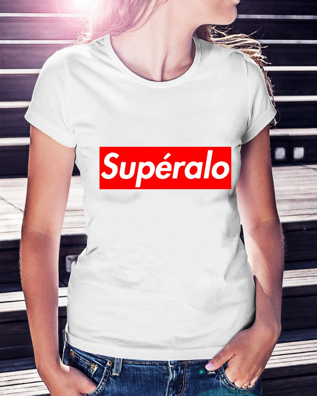 Official Supéralo Ladies Tee