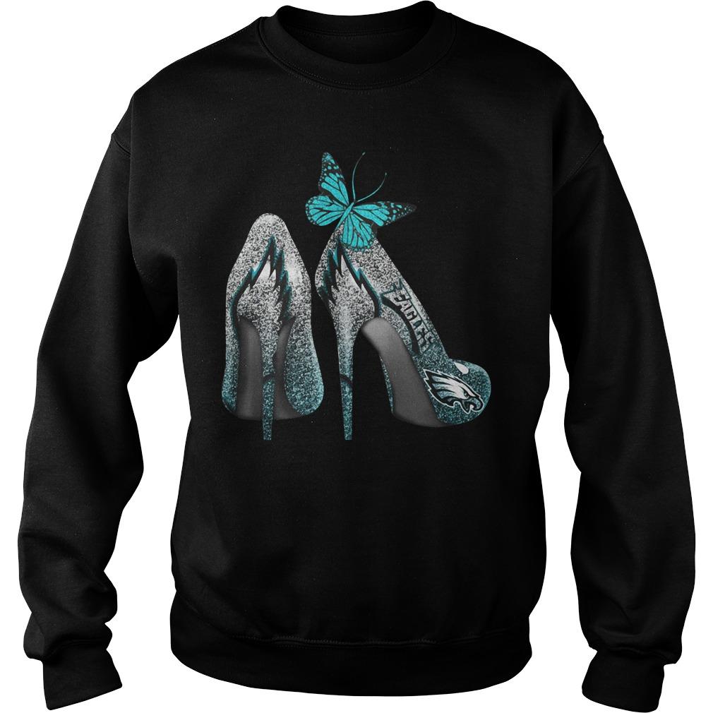 Philadelphia Eagles high heels Sweater