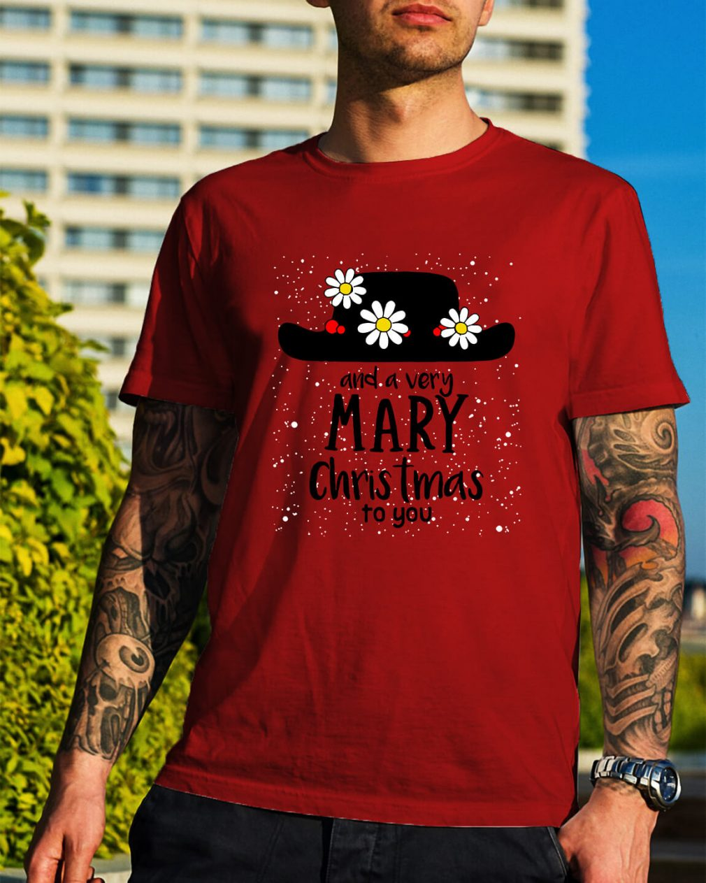 Popin and a very Mary Christmas to you Guys Shirt