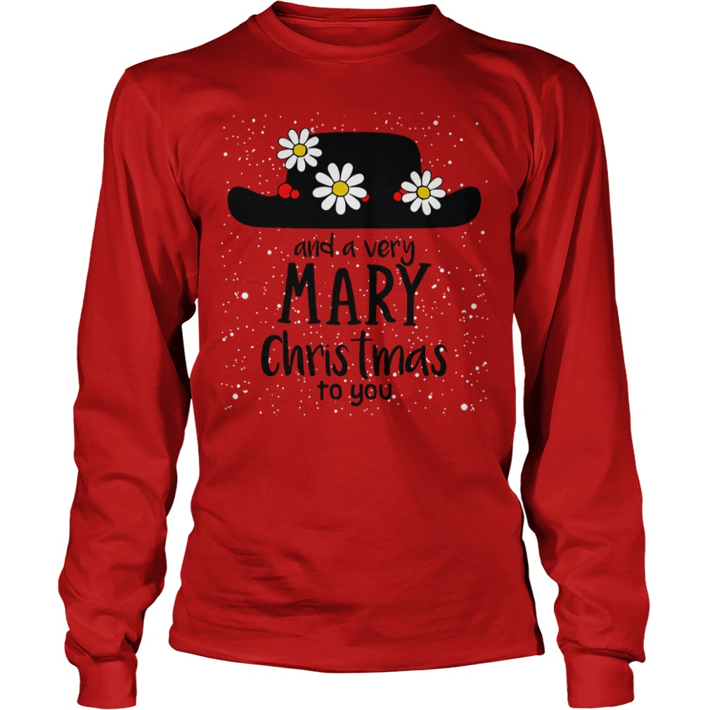 Popin and a very Mary Christmas to you Longsleeve Tee