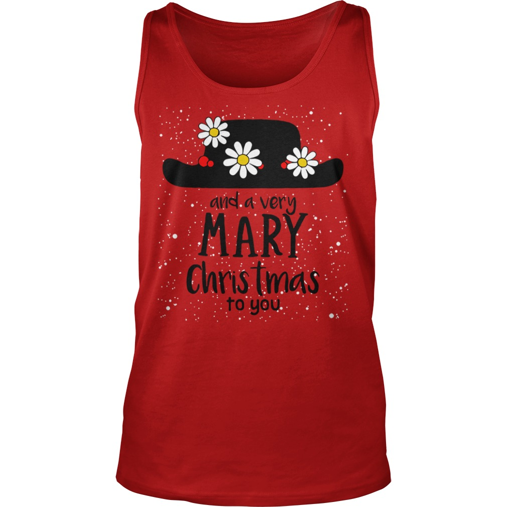 Popin and a very Mary Christmas to you Tank Top