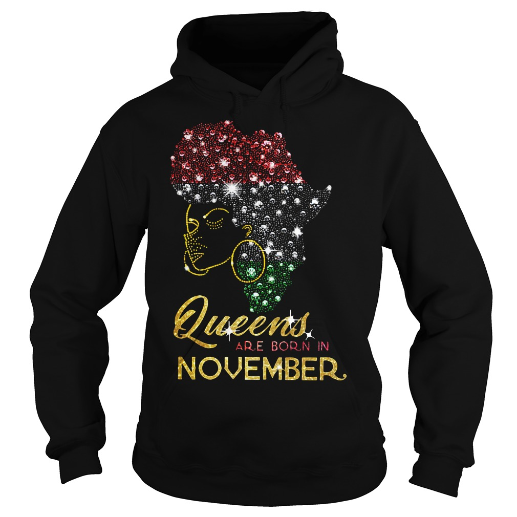 Queens are born in November Hoodie