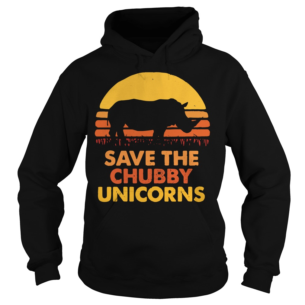 Save the chubby unicorns Hoodie