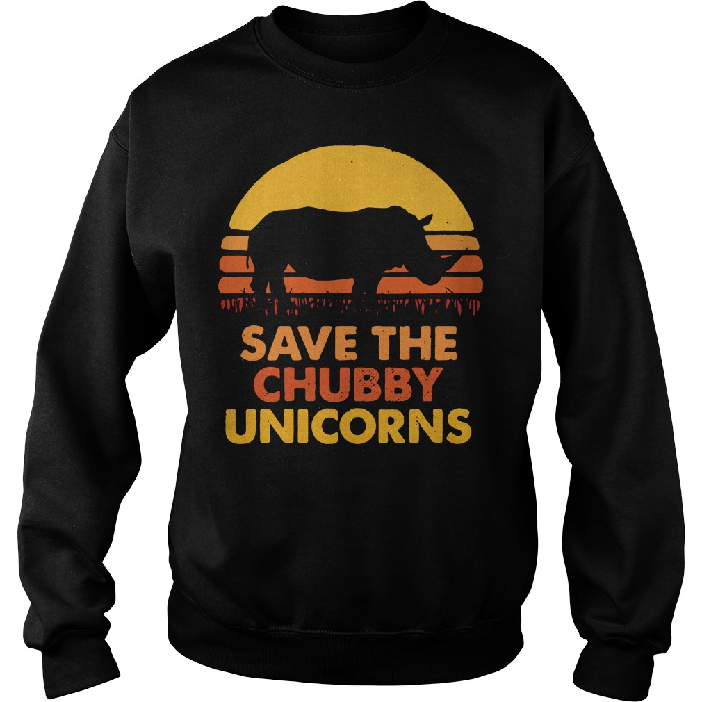 Save the chubby unicorns Sweater