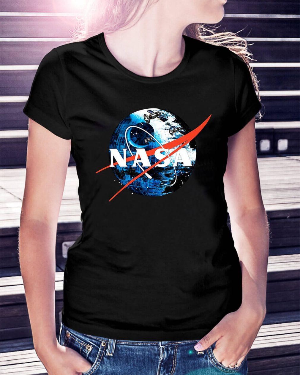 The Second NASA Death Star Wars Ladies Tee