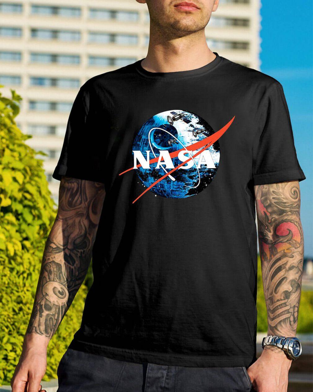 The Second NASA Death Star Wars shirt