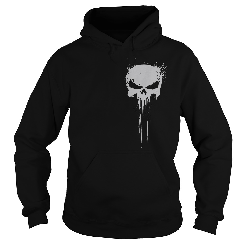 Skull - Innocents suffer and the guilty must be punished my battlefield Hoodie