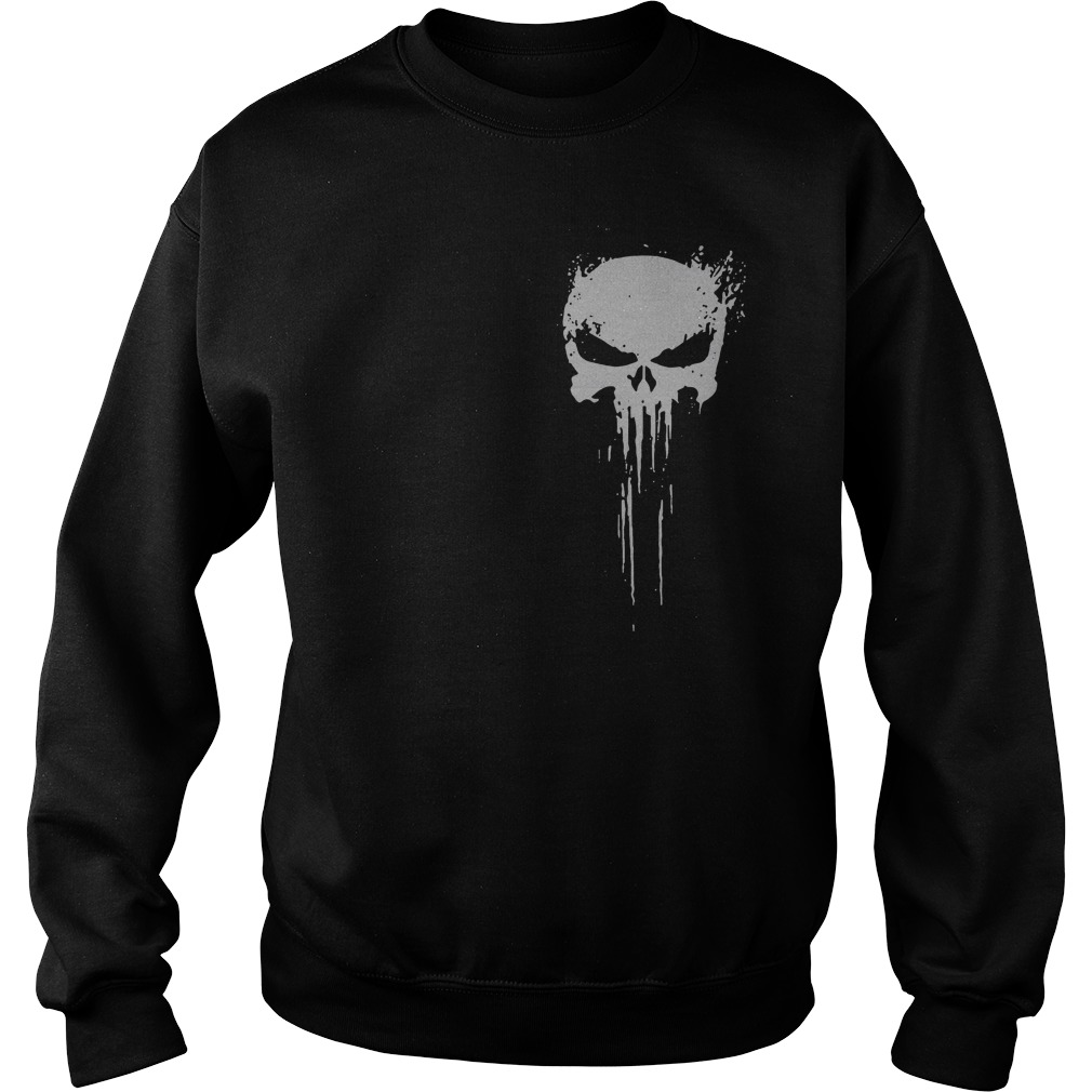 Skull - Innocents suffer and the guilty must be punished my battlefield Sweater