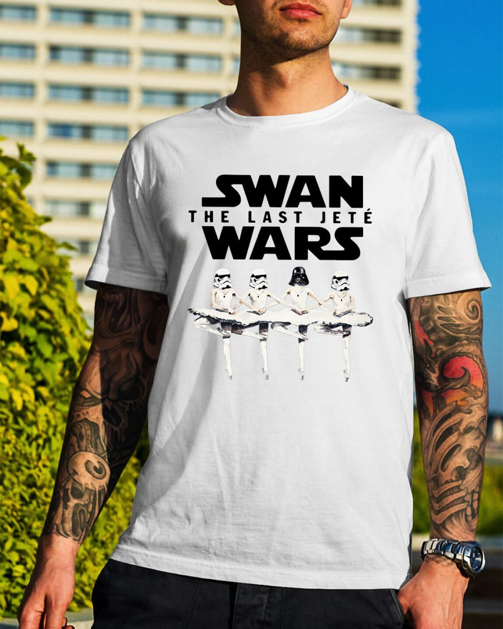 Star Wars swan the last Jeté Wars shirt