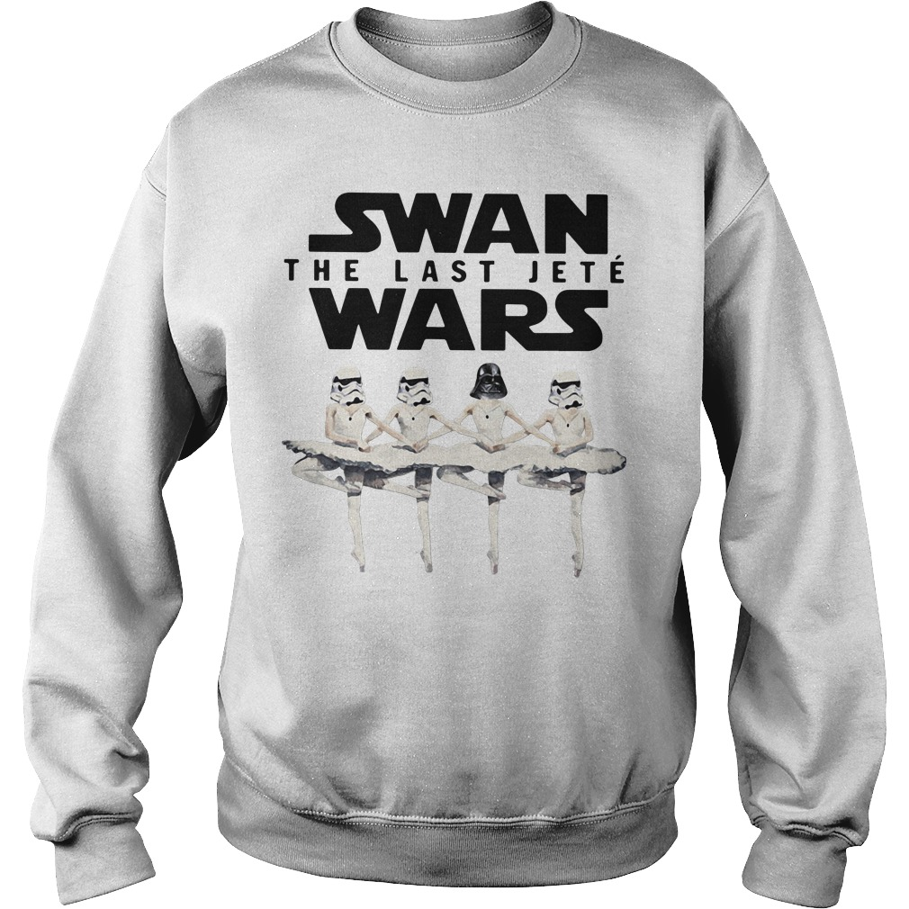 Star Wars swan the last Jeté Wars Sweater