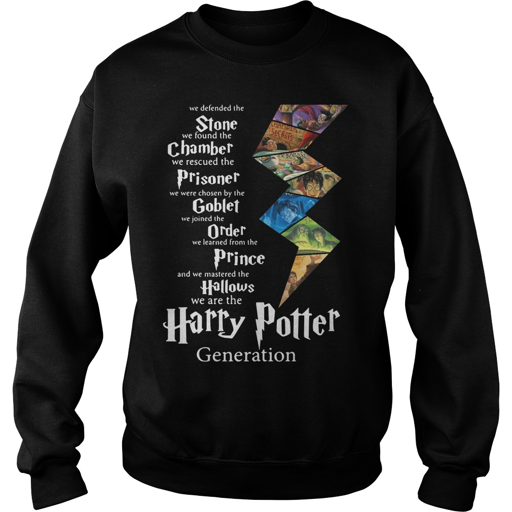 Stone Chamber Prisoner Goblet Order Prince Hallows Harry Potter Sweater